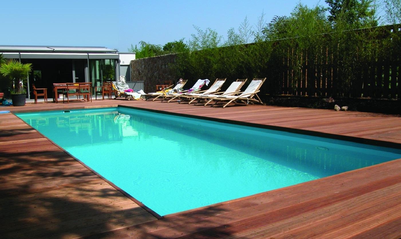 Hardhout terras buitenvloer - Terras teak zwembad ...